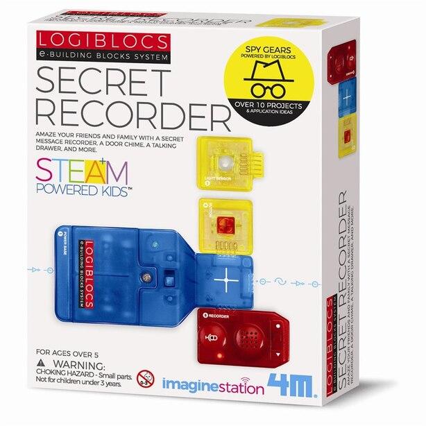 4M Logiblocs Science Kit Secret Recorder