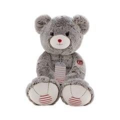 Très grand ours gris Kaloo Rouge Cœur