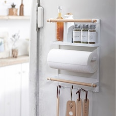 Yamazaki Tosca Magnetic Kitchen Organization Rack