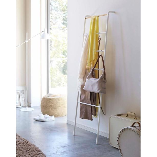 Yamazaki Tower Leaning Ladder Hanger White