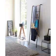 Yamazaki Tower Leaning Ladder Hanger Black