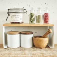 Yamazaki Tosca Stackable Kitchen Rack Small