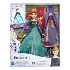 Disney's Frozen 2 Anna's Queen Transformation Fashion Doll With 2 Outfits and 2 Hair Styles, Toy…