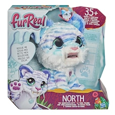 furReal, North, le tigre polaire, jouet interactif