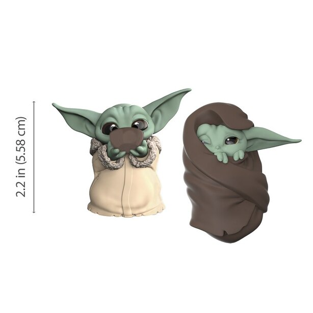 Star Wars The Mandalorian The Child Baby Bounties Mini Figures - Soup and Blanket