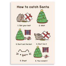 Holiday Card How to Catch Santa