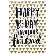 Paper E. Clips Birthday Card Fabulous Friend