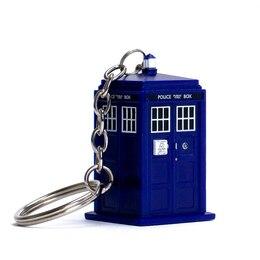 Dr. Who TARDIS Flashlight Keychain