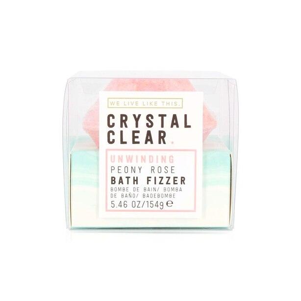 WLLT Crystal Clear Gem Bath Fizzer Rose & Lavender