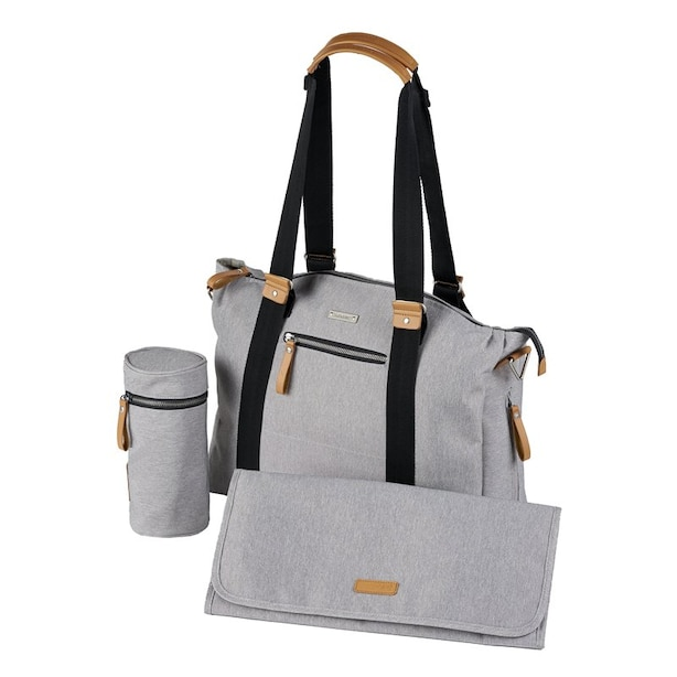 BabaBing! Harvey Tote PAC Changing Bag with Mat Stone