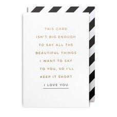 ANNIVERSARY CARD I LOVE YOU