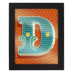 Monogram 150 pc Puzzle With Frame - D