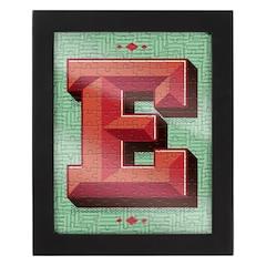 Monogram 150 pc Puzzle With Frame - E