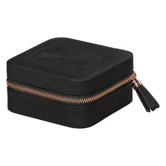 Ted Baker Zipped Jewellery Case - Black