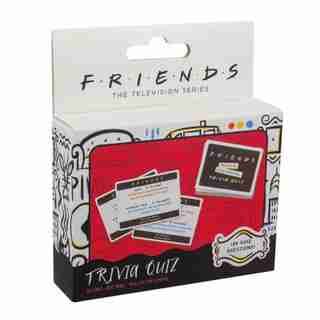 Friends Trivia Quiz Card Game