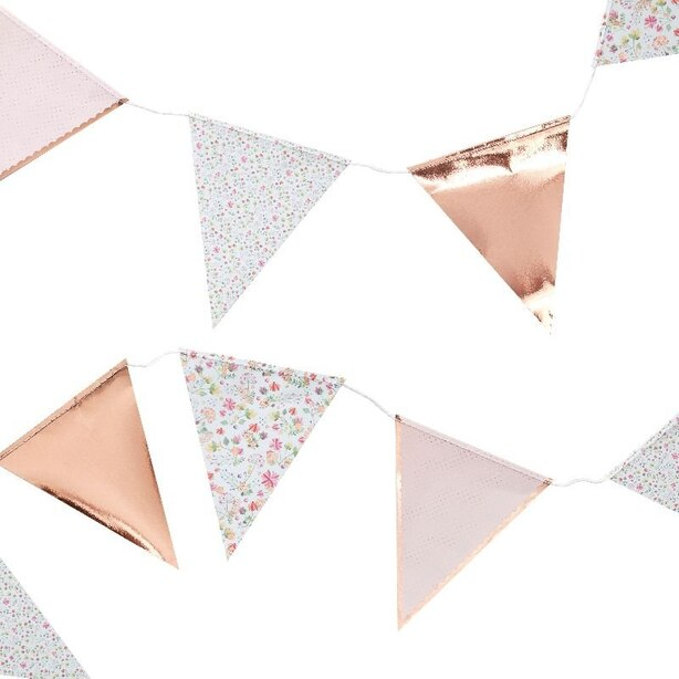 Ginger Ray Ditsy Floral Bunting Banner