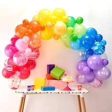 GINGER RAY BALLOON ARCH RAINBOW