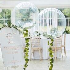 BOTANIC WEDDING SHOWER BOTANICAL CLEAR ORB