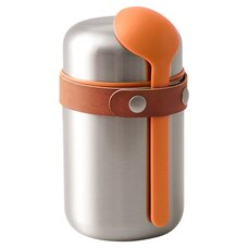 Black & Blum Food Flask – Orange