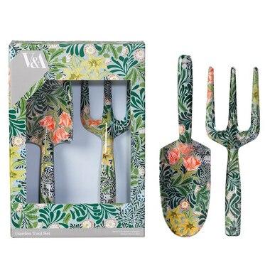 Fork & Trowel Set – William Morris Green