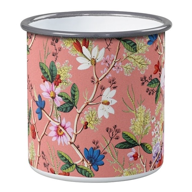 Enamel Pot – William Kilburn Coral