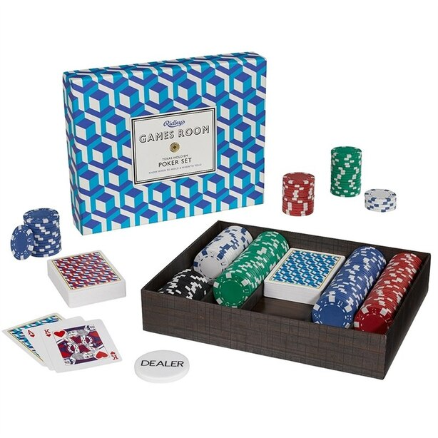 Games Room - Texas Hold Em Poker Set