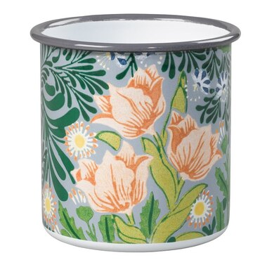 Enamel Pot – William Morris Green