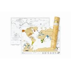 Carte à gratter Scratch Map