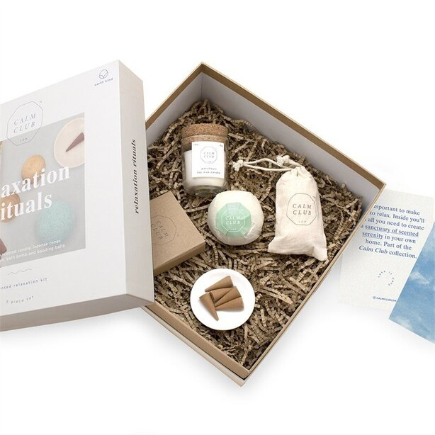 CALM CLUB Relaxation Rituals Box