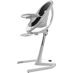 Mima Moon Grow-with-Baby 3-in-1 Chair White with Black Cushion