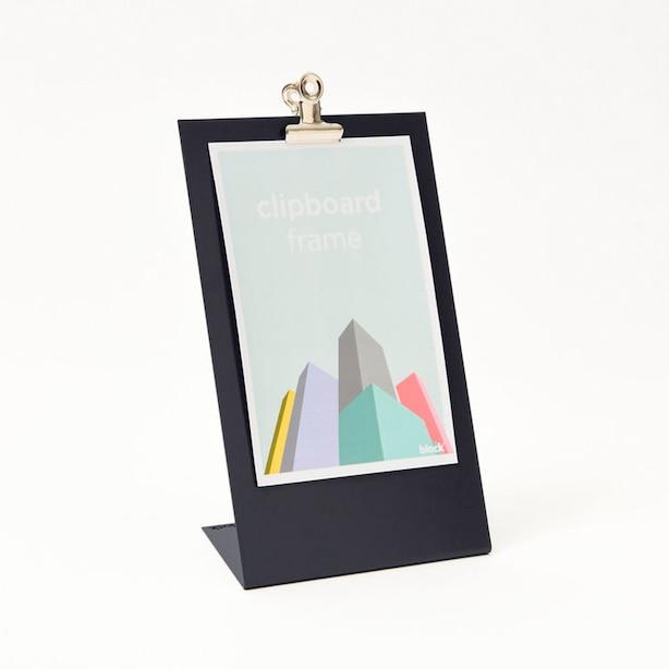 Metal Clipboard Frame Medium Navy Blue