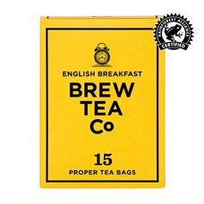 Brew Tea Co. English Breakfast Tea Bags Box of 15