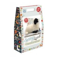 Needle Felting Kit Spring Lamb