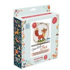 The Craft Kit Co. Fox Cross Stitch Kit