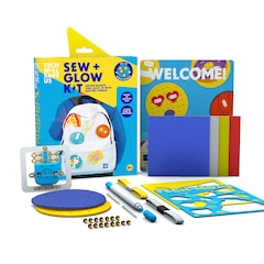 Tech Will Save Us STEM Toy Kit Sew and Glow Circuits