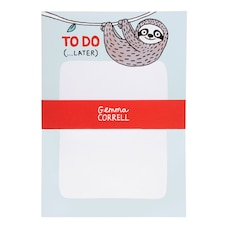 To-Do Notepad Sloth