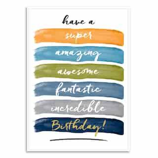 Paper E. Clips Birthday Card Super Birthday