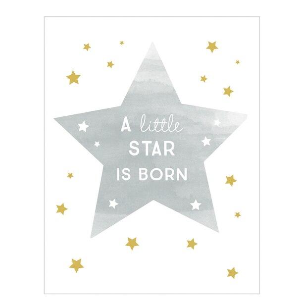 Baby Card A Little Star is Born
