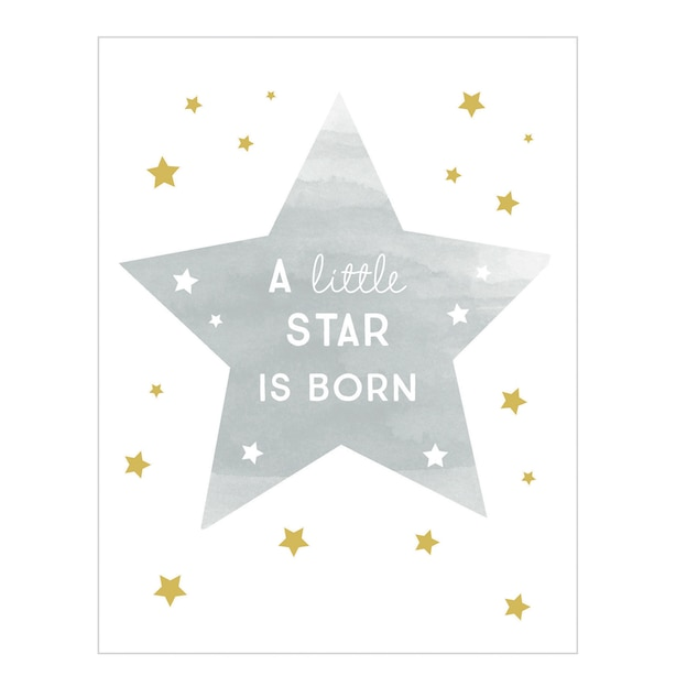 Baby Card A Little Star is Born