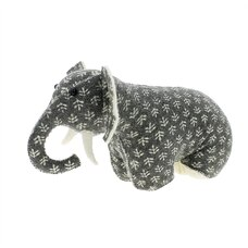 Fiona Walker England Bookends Elephant Grey Print