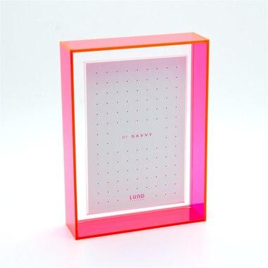 "Flash Blocco Frame – Pink, 4"" x 6"""