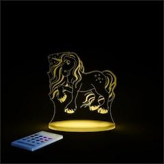 Aloka Starlights Magic Unicorn LED Night Light