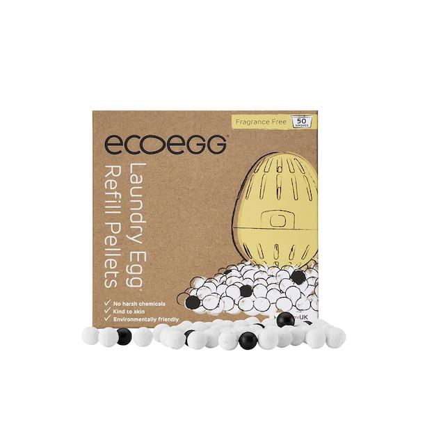 ecoegg Laundry Egg Refill Pellets 50 Washes Fragrance Free