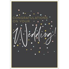 Paper E. Clips Wedding Card Wedding Dots