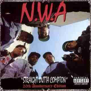 NWA  STRAIGHT OUTTA COMPTON  VINYL