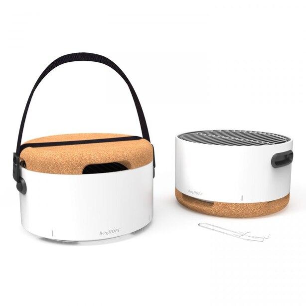 Portable Tabletop BBQ White