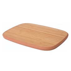 LEO ANTI-SLIP BAMBOO CUTTING BOARD PINK