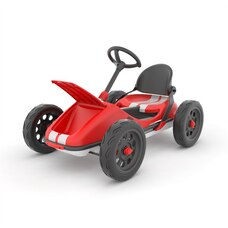 Chillafish Monzi-RS Un go-kart pliable innovant rouge