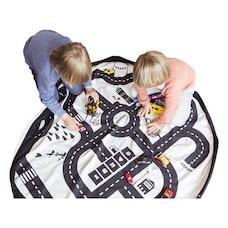 Play & Go 2 en 1 sac de rangement et tapis de jeu, Feuille de route