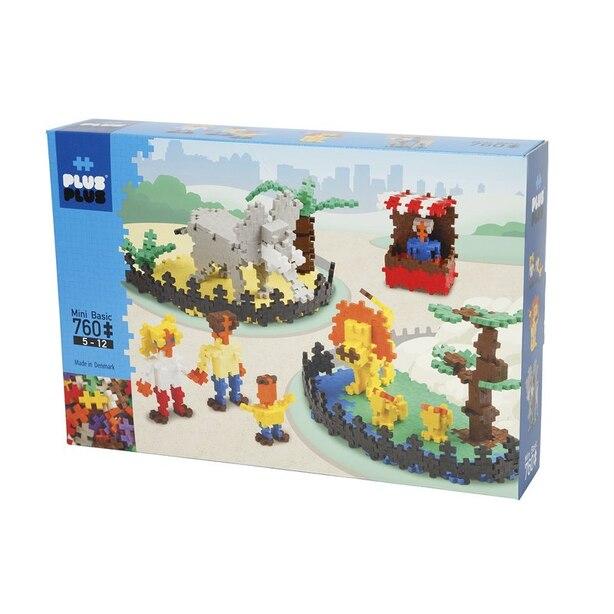 Plus-Plus Mini Basic 760pcs - Zoo